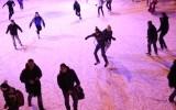 Катание на коньках в парке Горького