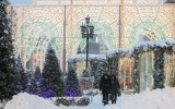 Городские зарисовки: Снежная Москва