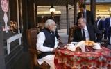 Встреча В. Путина и премьер-министра Индии Н. Моди