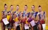 Россиянки выиграли золото ЧМ по художественной гимнастике