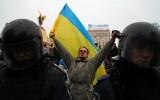 9 декабря 2013 г. Стояние на «Евромайдане»