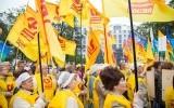 Митинг солидарности с Донецком и Луганском