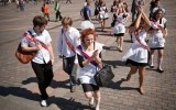 День «Последнего звонка» в Москве