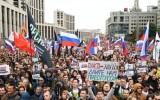 Митинг «Вернем себе право на выборы» в Москве