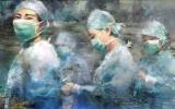 Китайские художники воспевают подвиг врачей