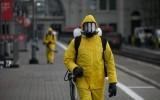 Дезинфекция в Москве в период пандемии