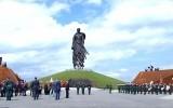 Открытие мемориала советскому солдату во Ржеве