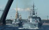 Главный военно-морской парад России в Санкт-Петербурге