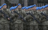 Парад Победы в столице Азербайджана Баку