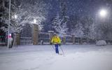 Снежная буря в Испании