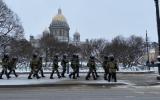 Перекрытие центра Санкт-Петербурга 6 февраля