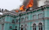 Пожар в кардиохирургическом центре Благовещенска