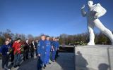 Путин в Парке покорителей космоса им. Юрия Гагарина