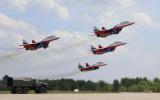 30-летие пилотажных групп «Русские витязи» и «Стрижи»